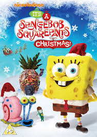 Spongebob Halloween Vhs And Dvd by Spongebob Squarepants It U0027s A Spongebob Squarepants Christmas Dvd
