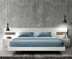 White Modern Bed Set The Holland Enhance The Beauty Your