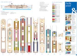 Disney Dream Deck Plan 10 by Deck Plans Pacific Jewel Deck Design And Ideas