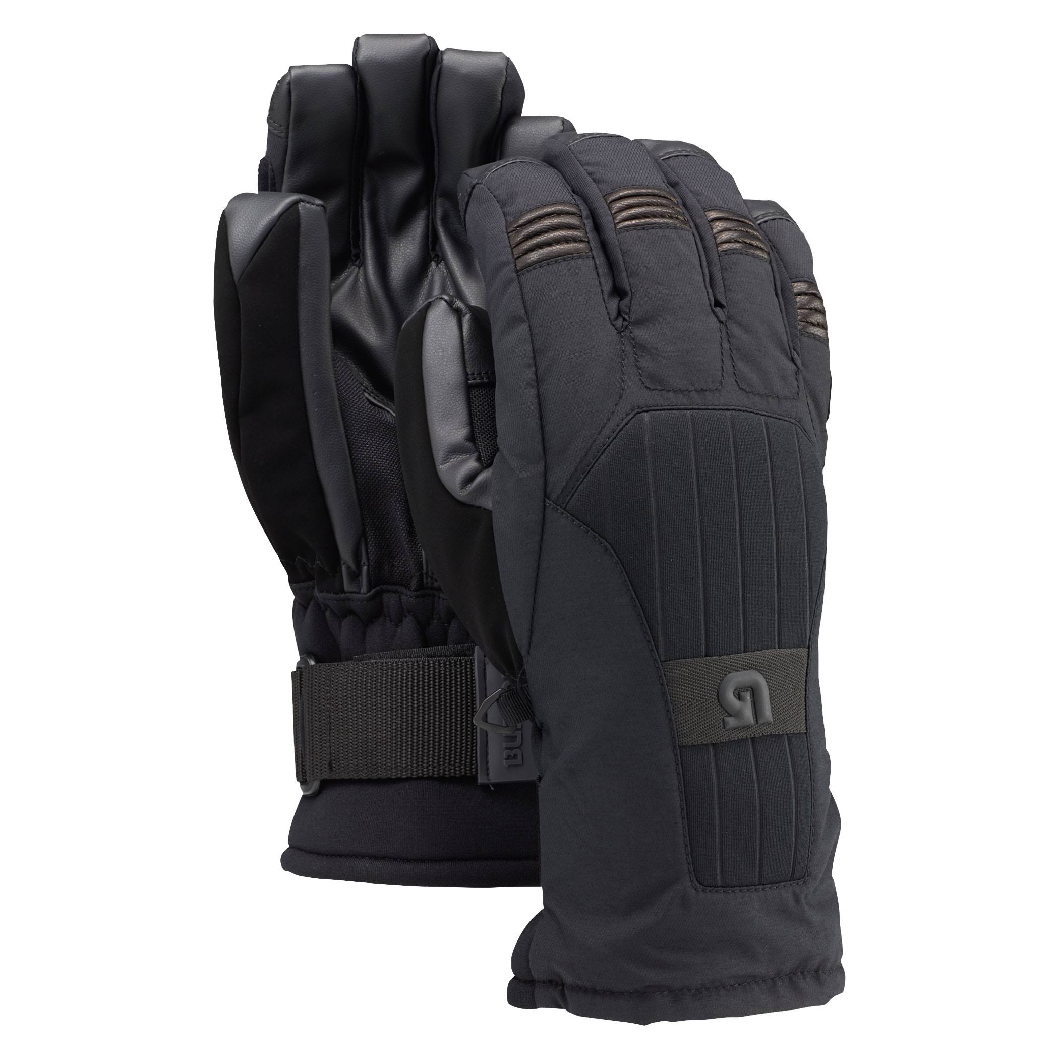 Burton Support Glove, True Black, S