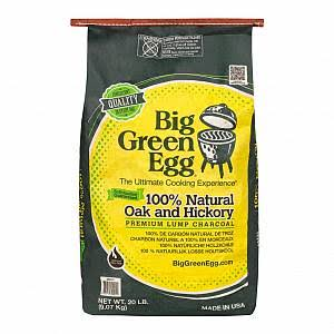 Big Green Egg 100% Organic Lump Charcoal - 20lbs