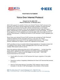 Voip   Voice Over Ip   Federal Communications Commission