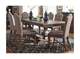 Lucca Formal 7 Piece Two Pedestal Table And Upholstered Chair Set By Vendor  5349 At Becker Furniture World Costco Agio 7 Pc High Dning Set With Fire Table 1299 Piece Kitchen Table Set Mascaactorg Ding Room Simple Fniture Of Cheap Table Sets Annis 7pc Chair Fair Price Art Inc American Chapter 7piece Live Edge Whitney Piece Trestle By Liberty At And Appliancemart Intercon Belgium Farmhouse Rustic Kitchen Island Avon Oval Dinette Kitchen Ding Room With 6 Round With Chairs 1211juzxspiderwebco 9 Pc Square Dinette Ding Room 8 Chairs Yolanda Suite Stoke Omaha Grey