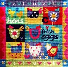 Shed Anchor Kit Instructions by Patchwork Chickens Tapestry Kit Stitching Wool And Gifts