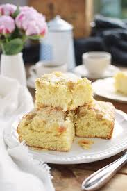 butterkuchen mit pudding butter custard cake rezept recipe
