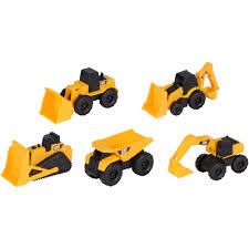 100 Caterpillar Dump Truck Toy Construction Mini Machines 5 Pack Walmartcom