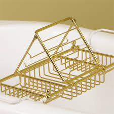 Bath Caddy With Reading Rack Uk by Tub Rack Epienso Com