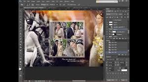 How To Design Wedding Album Page 1 using Adobe shop CS6 HD
