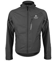 aero tech men u0027s waterproof breathable cycle jacket rainwear