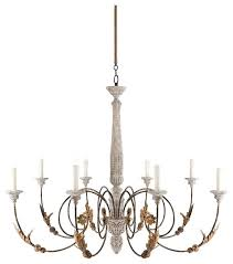French Country Light Fixtures Large 8 Curled Iron Arm Chandelier Dining