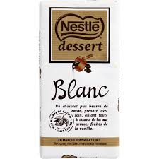 nestlé chocolat blanc pâtissier monoprix fr