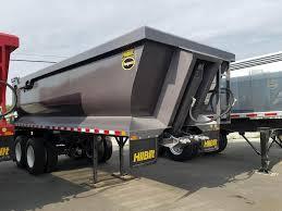 100 End Dump Truck 2019 Hilbilt 22 FT QUARTER FRAME END DUMP Trailer