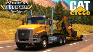 American Truck Simulator CAT CT660 - YouTube 740b Articulated Truck Caterpillar Equipment Pdf Catalogue Cat V 20 And Semi Trailer By Eagle355th Mod For Dump Stock Photos Images Alamy Used 1999 Cat 3126 Truck Engine For Sale In Fl 1205 773g V13 Farming Simulator 2017 Fs Ls 1991 D400d 8tf380 Dtruck Tillys Crawler Parts 725c2 Driving The New Ct680 Vocational Truck News Ct660 Vocational In Trucks Accsories Now Thats One Gdlooking The Complete Specification Detail Of D400e Articulated New C7 1054