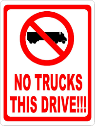 Amazon.com: No Trucks This Drive Sign. Prevent Trucks From Entering ... This Sign Says Both Dead End And No Thru Trucks Mildlyteresting Fork Lift Sign First Safety Signs Vintage No Trucks Main Clipart Road Signs No Heavy Trucks Day Ross Tagg Design Allowed In Neighborhood Rules Regulations Photo For Allowed Meashots Entry For Heavy Vehicles Prohibitory By Salagraphics Belgian Regulatory Road Stock Illustration Getty Images