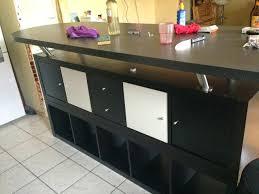 fabriquer table haute cuisine fabriquer une table bar de cuisine table bar ikea sacparation