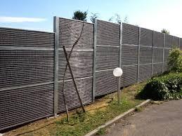 panneaux anti bruit cloé acier galvanise végétalisé installation