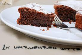 schokoladen haselnuss kuchen glutenfrei 1x umrühren