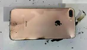 iPhone 7 Plus explodes in China image from iPhone 7 Plus