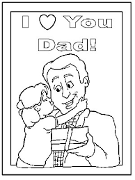 DLTKs Crafts For Kids Fathers Day Coloring Pages And Tracer