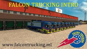 100 Falcon Trucking International VTC Intro YouTube