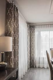 rideaux salle a manger rideaux à plis et voilages ripple fold sur tringle décorative