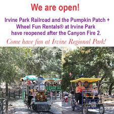 Irvine Regional Park Pumpkin Patch by Irvine Park Railroad Home Facebook