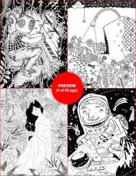 Coloring Book Volume 4 60 Pages