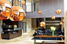 wonderful modern villa entrance in south africa by nico van der