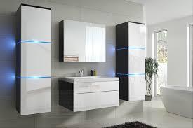 badmöbel new mdf badezimmermöbel weiß hochglanz schwarz