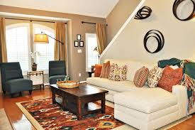 Beige Sectional Living Room Ideas by Kilim Pillows Living Room Contemporary With Beige Rug Built In
