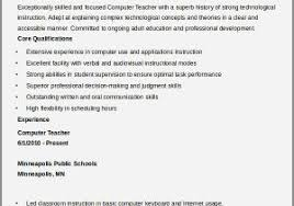 Sample Resume For Computer Teachers Freshers Best Of Teacher 32 Free Word Pdf Documents