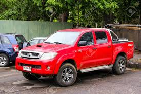 PUCON, CHILE - NOVEMBER 20, 2015: Red Pickup Truck Toyota Hilux ... 2013 Toyota Hilux Used Car 15490 Charters Of Reading Used Car Nicaragua 2007 4x2 Pickup Truck Review 2012 And Pictures Auto Jual Toyota Hilux Pickup Truck Rtr Red Thunder Tiger Di Lapak 2010 Junk Mail 2018 Getting Luxurious Version For Sale 1991 4x4 Diesel Right Hand Drive Toyotas Allnew Truck Is Ready To Take On The Most Grueling Hilux Surf Monster Truckoffroaderexpedition In Comes Ussort Of Trend My Perfect 3dtuning Probably Best