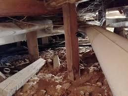 Floor Joist Jack Crawl Space by Vapor Barrier And Insulation In Crawl Space Will Mean Warmer