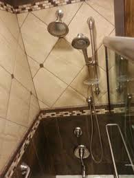 custom shower built with the wedi fundo shower system comes with