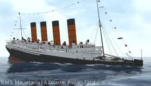 Roblox Rms Olympic Sinking by R M S Mauretania A Disaster Proven Fatal Youtube