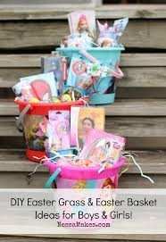 Easter Basket Ideas Grass Disneyeaster Ad
