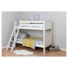 kids classic bunk bed twin over twin white nui kids target