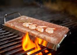 flash bbq salzstein grill salzplatte heißer stein aromaplanke steak fisch