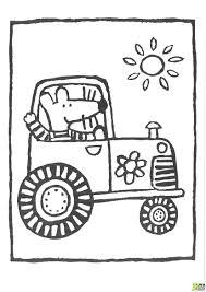 Coloriage Tracteur 12 Dessins De Coloriage Remorque Imprimer