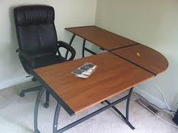 Easy2go Corner Computer Desk Assembly by Contemporary L Shaped Desks Making L Shaped Desks Installed In