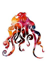 Image result for octopus watercolor Octopus s Garden