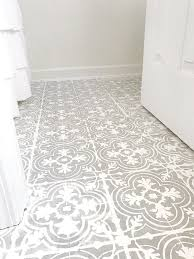 Tiling A Bathroom Floor On Concrete by Best 25 Painting Tile Floors Ideas On Pinterest Painting Tiles