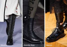 Fall Winter 2017 2018 Shoe Trends Combat Boots