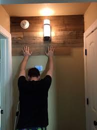 Reclaimed Wood Wall Pressing Board