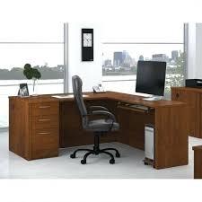 Bestar L Shaped Desk by Latitude Run Monarch Keyboard Tray L Shape Writing Desk U0026 Reviews