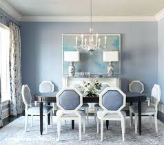 Blue And White Dining Room Wonderful Light Ideas With Additional