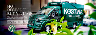 100 Truck Brand New Vintage Food Ideal Vehicle For Companies And Event