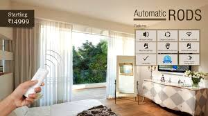 Motorized Curtain Track Singapore by Automatic Curtain Rod From Decowindow Youtube