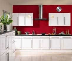 Kitchen Sunken Cooking Area And Hood Cube Stainless Build Microwive Ikea Pendant Lamps Built In Red Black