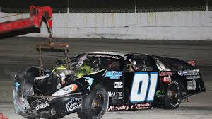Wisconsin International Raceway: Monday Continues After Stock Car Crash